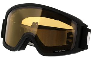 Skibrille g.gl 3000 P Black Matt/Yellow Pola