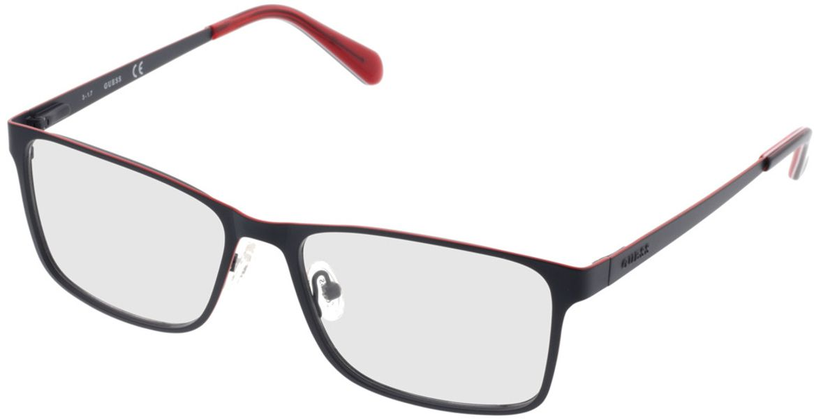 Picture of glasses model Guess GU1940/V 091 56-17 in angle 330