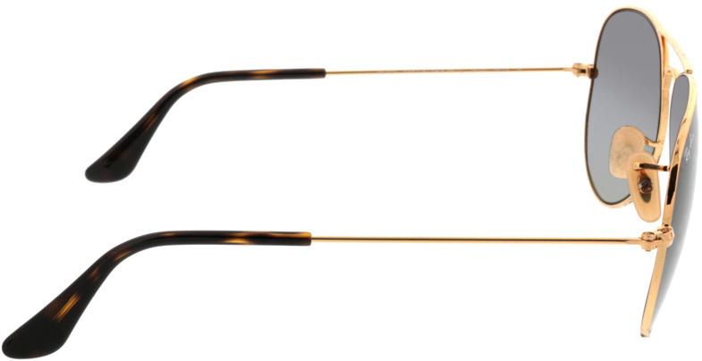 Picture of glasses model Ray-Ban Aviator RB3025 181/71 58-14 in angle 90