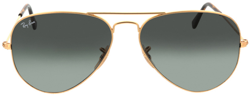 Picture of glasses model Ray-Ban Aviator RB3025 181/71 58-14 in angle 0