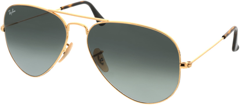 Picture of glasses model Ray-Ban Aviator RB3025 181/71 58-14 in angle 330