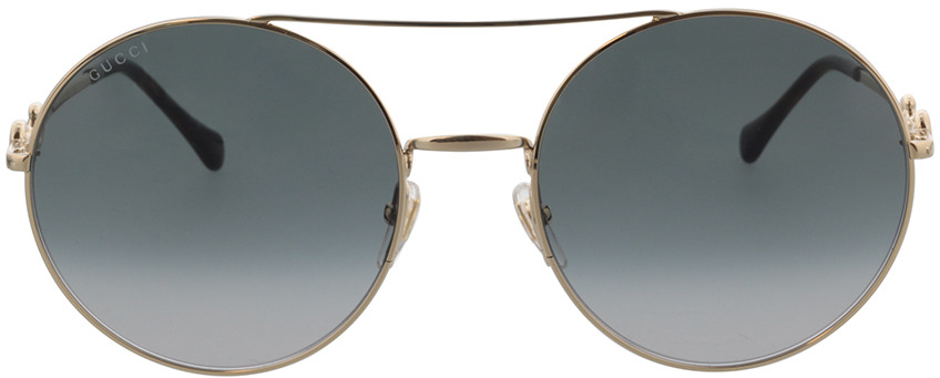 Picture of glasses model Gucci GG0878S-001 59-20 in angle 0