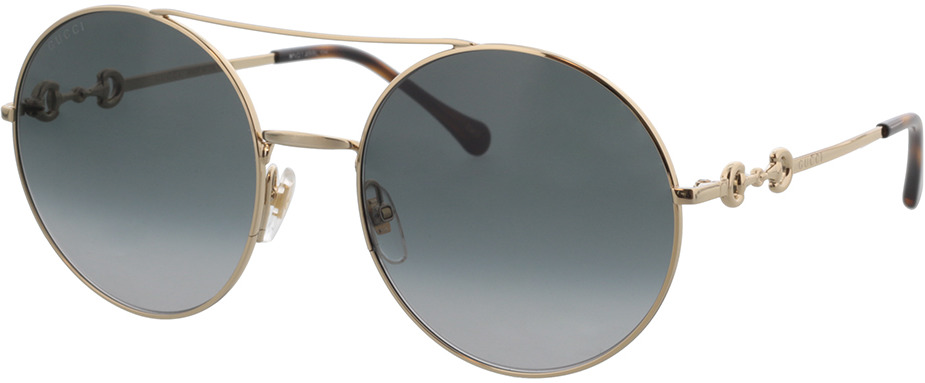 Picture of glasses model Gucci GG0878S-001 59-20 in angle 330