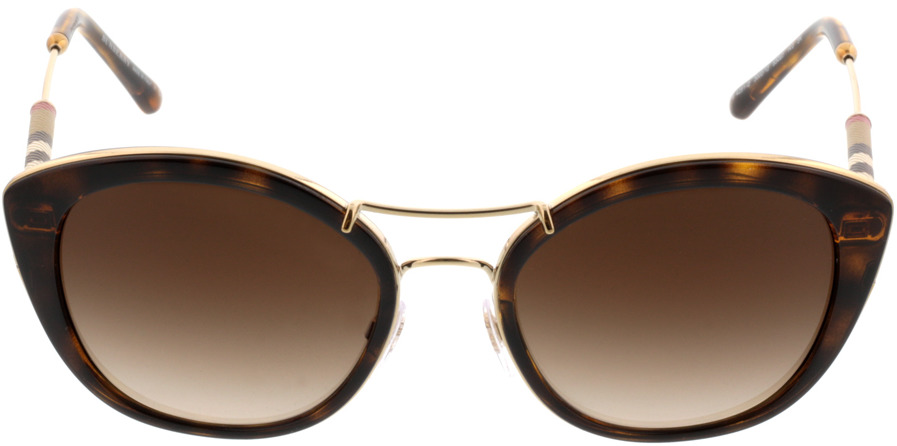 Picture of glasses model Burberry BE4251Q 300213 53-20 in angle 0