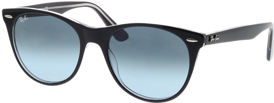 Picture of glasses model Ray-Ban RB2185 12943M 55-18 in angle 330