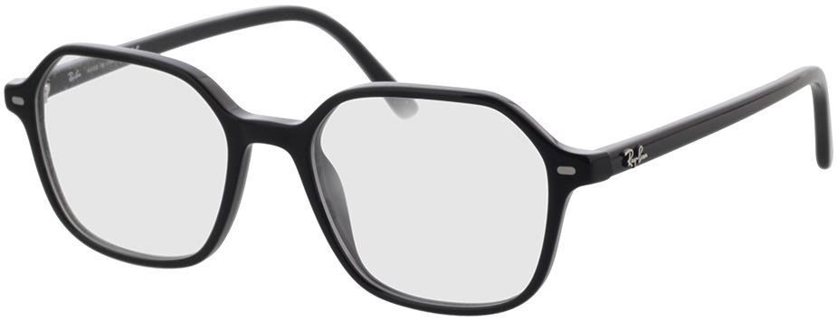 Picture of glasses model Ray-Ban RX5394 2000 51-18 in angle 330