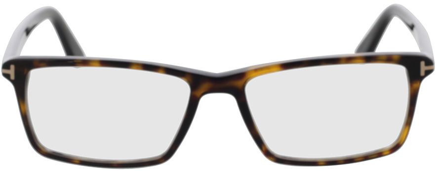 Picture of glasses model Tom Ford Womens MADISON TF253 52F in angle 0