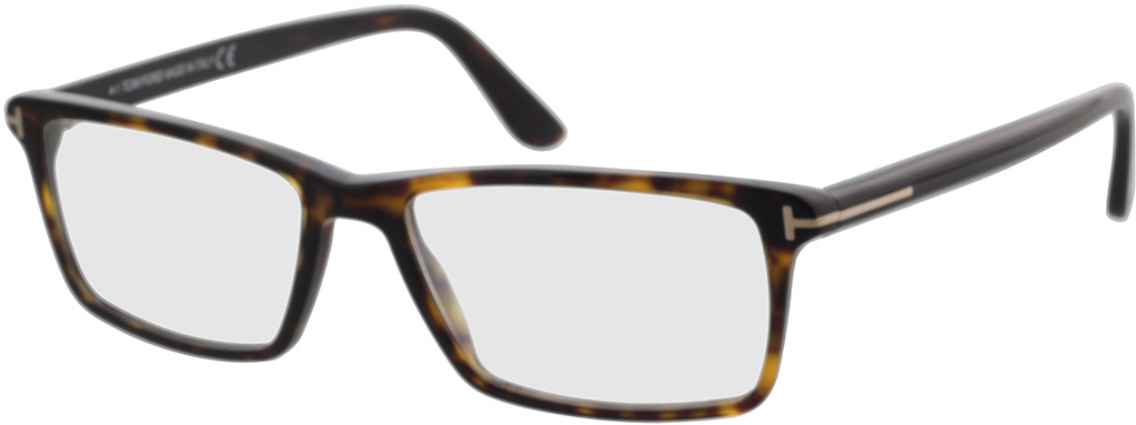 Picture of glasses model Tom Ford Womens MADISON TF253 52F in angle 330