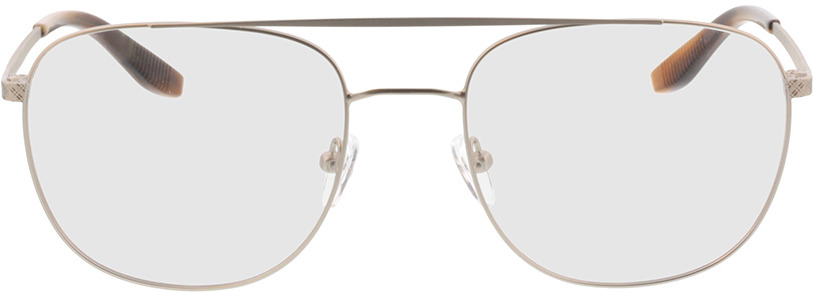 Picture of glasses model Atlas-silber/braun horn in angle 0