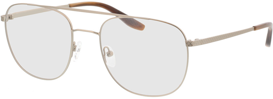 Picture of glasses model Atlas-silber/braun horn in angle 330