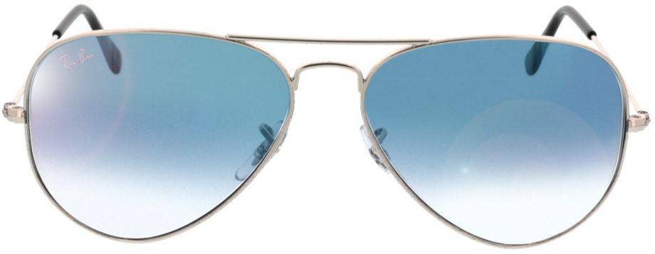 Picture of glasses model Ray-Ban Aviator RB3025 003/3F 58-14 in angle 0