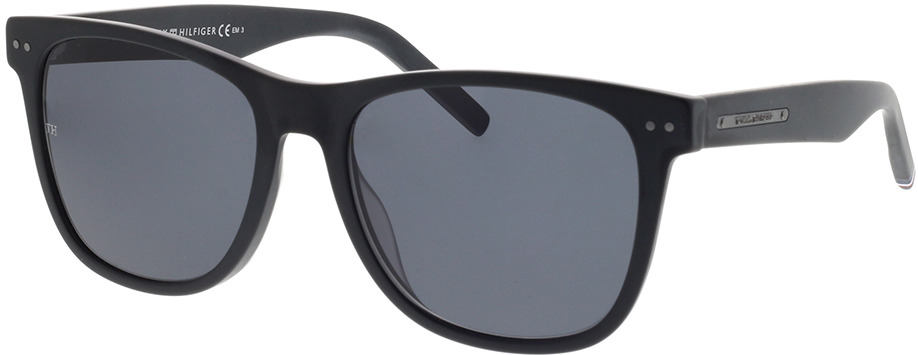 Picture of glasses model Tommy Hilfiger TH 1712/S 003 54-18 in angle 330