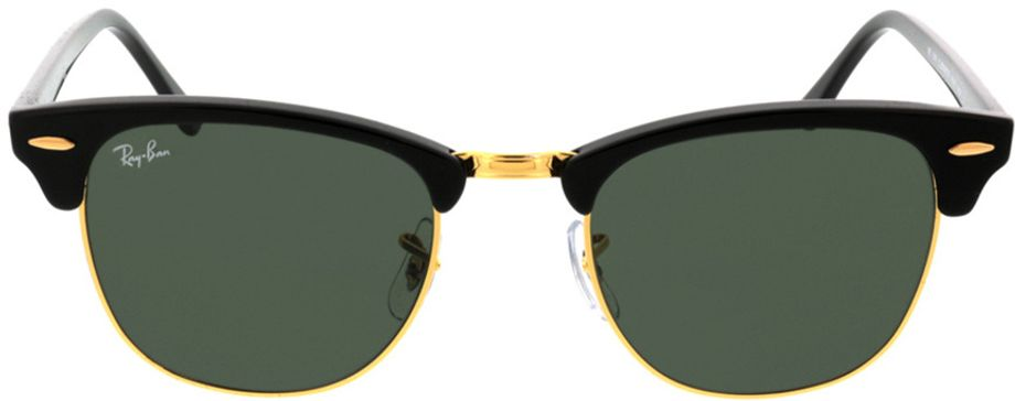 Picture of glasses model Ray-Ban Clubmaster RB3016 W0365 51-21 in angle 0