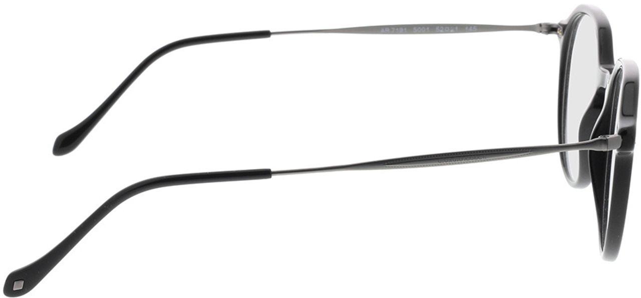 Picture of glasses model Giorgio Armani AR7191 5001 52-21 in angle 90