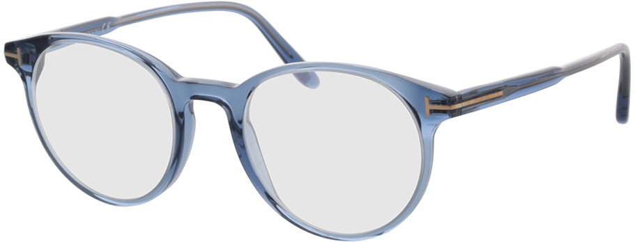 Picture of glasses model Tom Ford FT5695-B 090 49-20 in angle 330