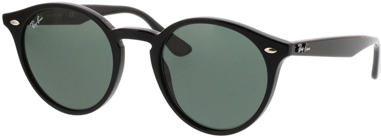 Picture of glasses model Ray-Ban RB 2180 601/71 49-21 in angle 330