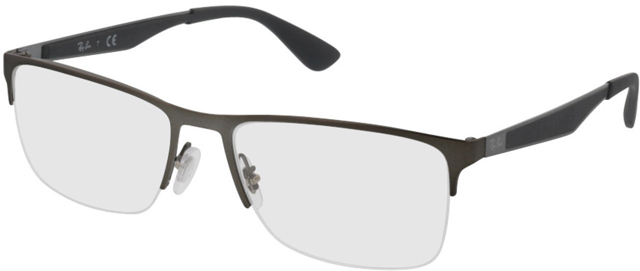 Picture of glasses model Ray-Ban RX6335 2855 54-17 in angle 330