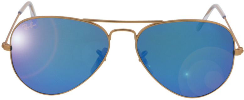 Picture of glasses model Ray-Ban Aviator RB3025 112/17 55-14 in angle 0