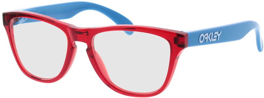 Picture of glasses model Oakley RX Frogskins XS Junior OY8009-02 48-15 in angle 330