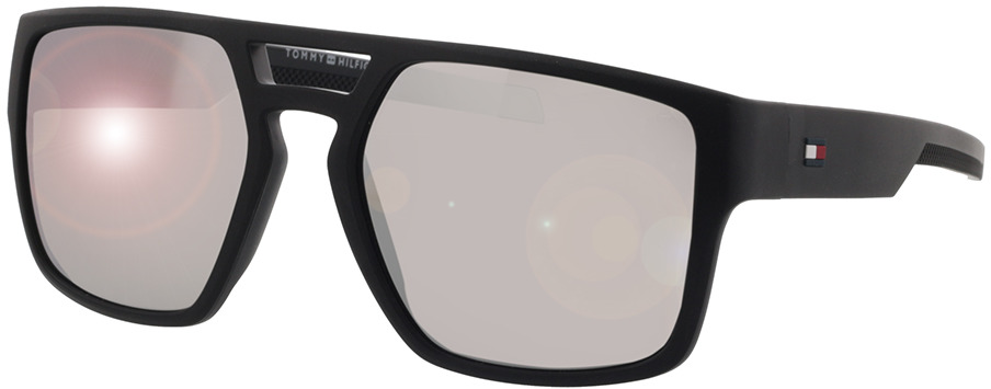 Picture of glasses model Tommy Hilfiger TH 1805/S 003 56-18 in angle 330