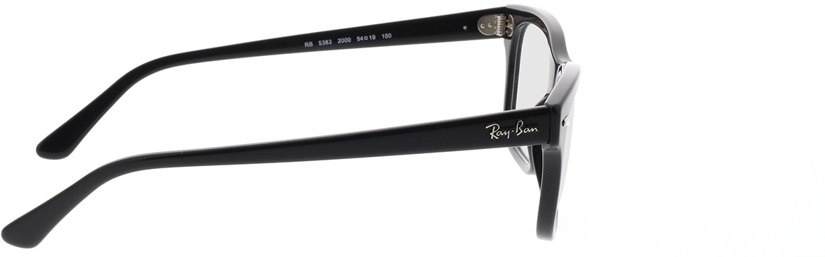 Picture of glasses model Ray-Ban RX5383 2000 54-19 in angle 90