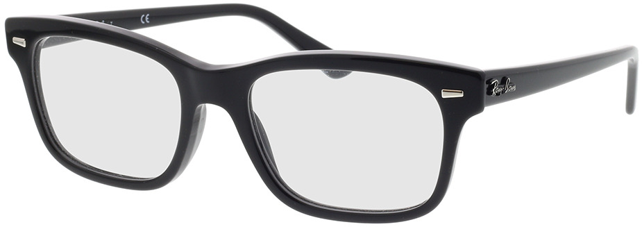 Picture of glasses model Ray-Ban RX5383 2000 54-19 in angle 330