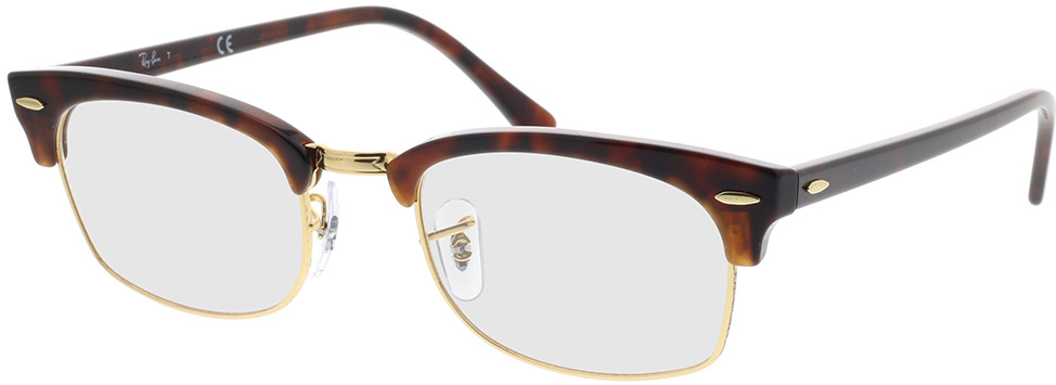 Picture of glasses model Ray-Ban RX3916V 8058 52-21 in angle 330