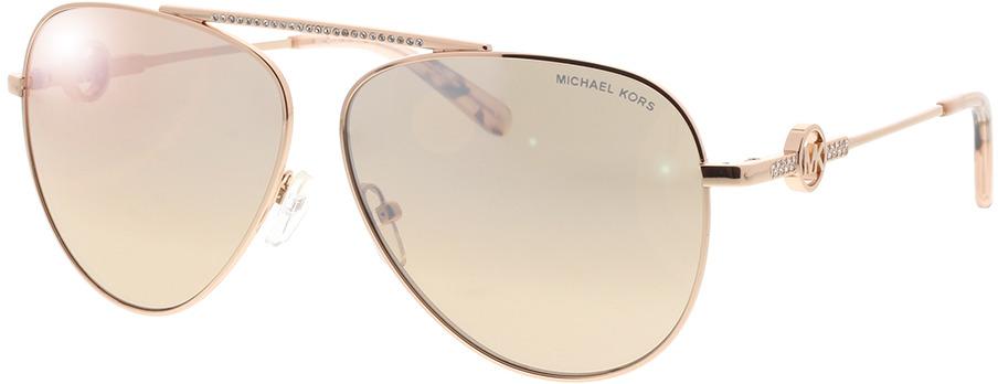 Picture of glasses model Michael Kors Salina MK1066B 11088Z 59-11 in angle 330