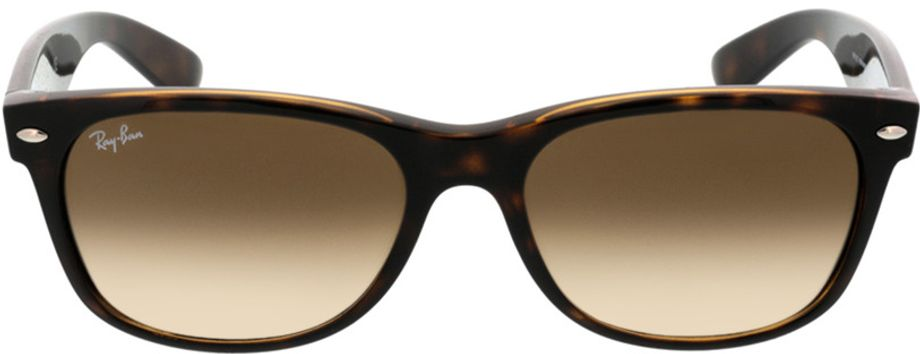 Picture of glasses model Ray-Ban New Wayfarer RB2132 710/51 55-18 in angle 0
