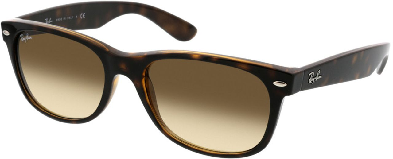 Picture of glasses model Ray-Ban New Wayfarer RB2132 710/51 55-18 in angle 330