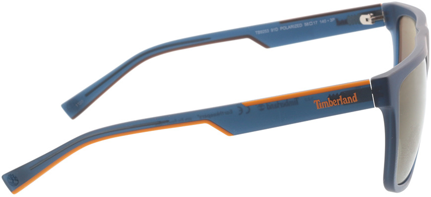 Picture of glasses model Timberland TB9253 91D 58-17 in angle 90