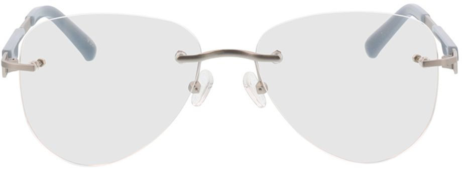 Picture of glasses model Tangari-matt silber/grau in angle 0