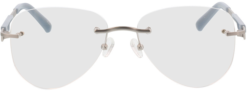 Picture of glasses model Tangari-argenté mat/gris in angle 0