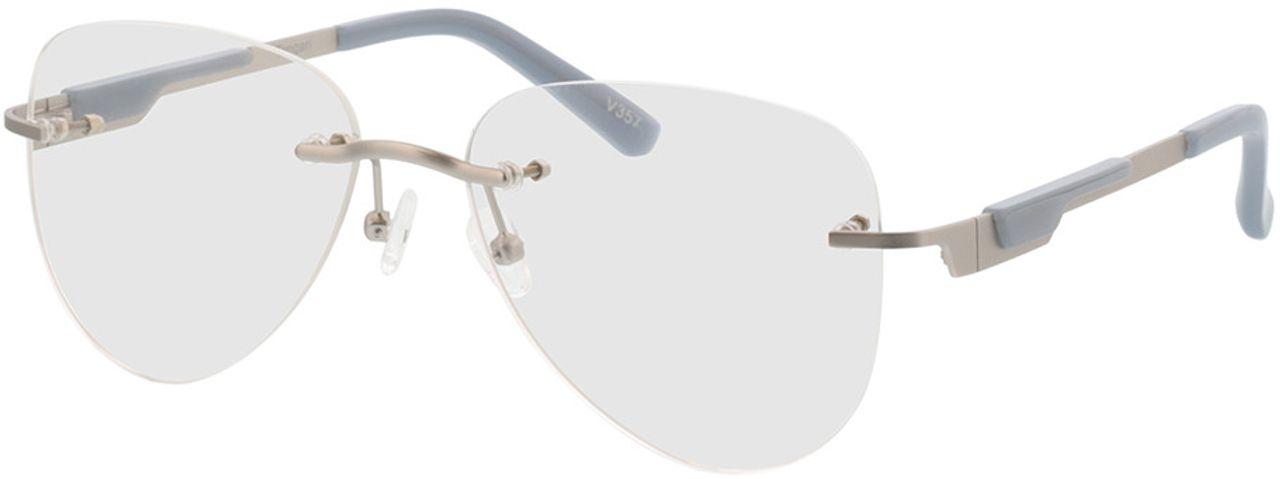 Picture of glasses model Tangari-matt silber/grau in angle 330