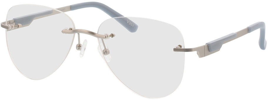 Picture of glasses model Tangari-argenté mat/gris in angle 330