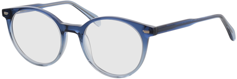 Picture of glasses model Bonnie-azul-degradê in angle 330