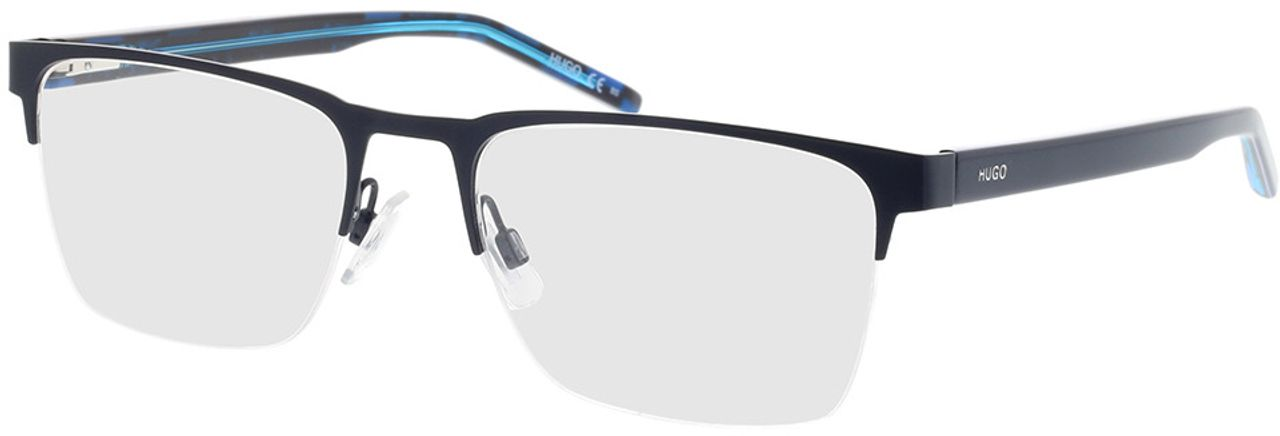 Picture of glasses model Hugo HG 1076 FLL 56-19 in angle 330