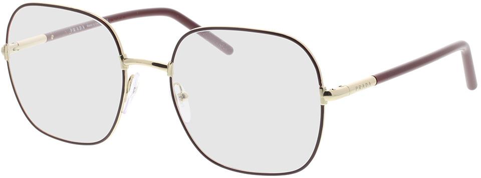 Picture of glasses model Prada PR 56WV 09B1O1 54-19 in angle 330