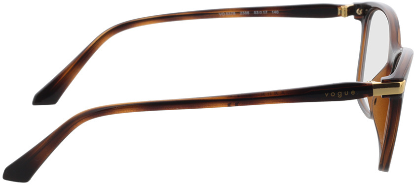 Picture of glasses model Vogue VO5378 2386 53 in angle 90