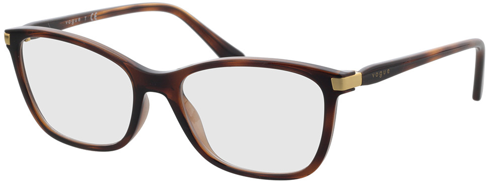 Picture of glasses model Vogue VO5378 2386 53 in angle 330