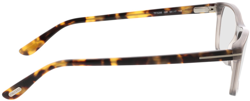 Picture of glasses model Tom Ford FT5295 020 54 17 in angle 90