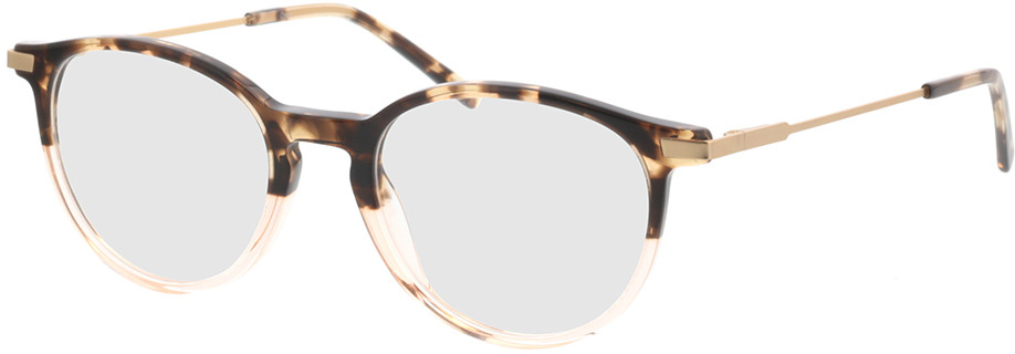 Picture of glasses model Opus-braun-meliert/beige-transparent in angle 330