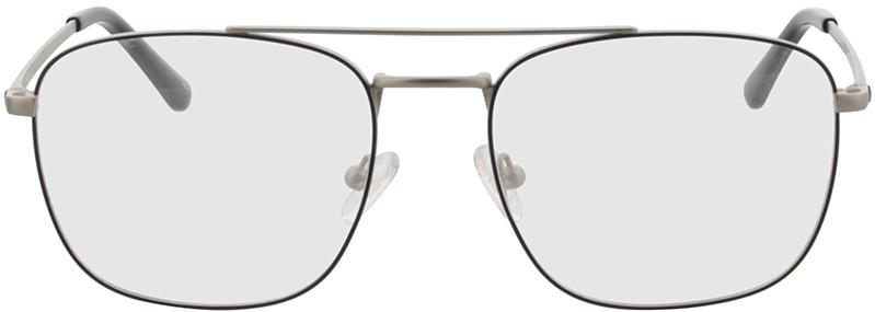Picture of glasses model Gordon-prateado/preto in angle 0