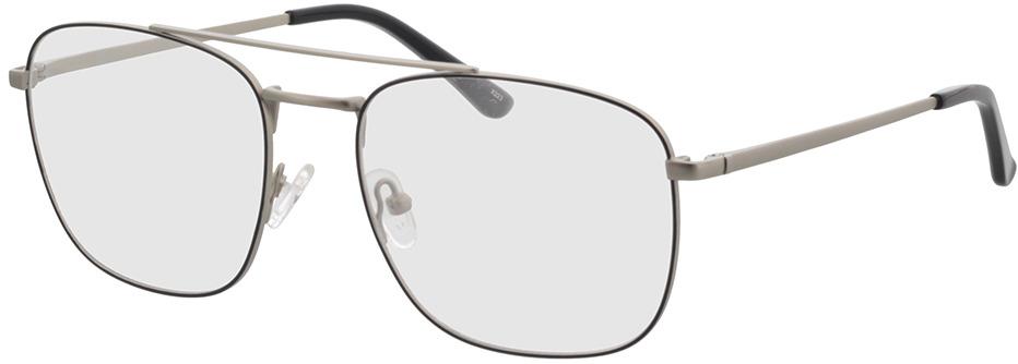 Picture of glasses model Gordon-prateado/preto in angle 330