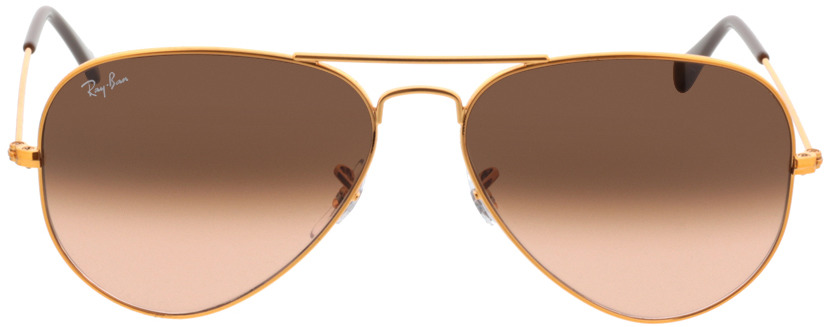 Picture of glasses model Ray-Ban Aviator RB3025 9001A5 58-14 in angle 0