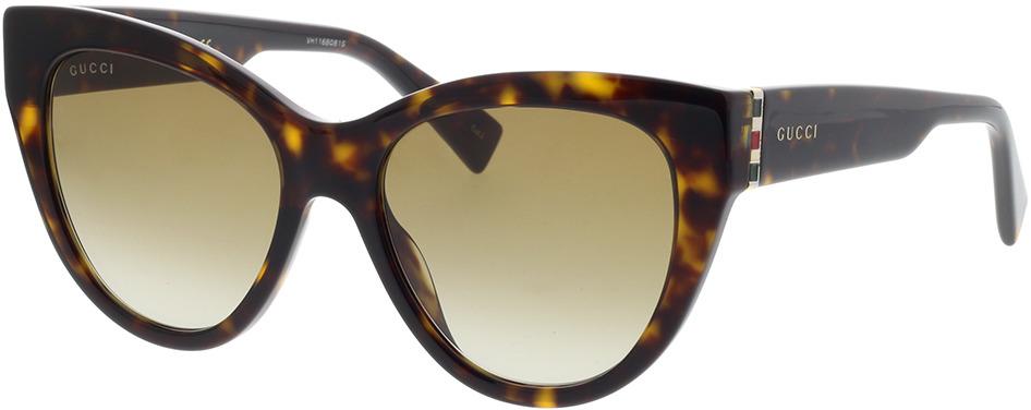 Picture of glasses model Gucci GG0460S-002 53-18