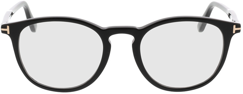 Picture of glasses model Tom Ford FT5401 001 51-20 in angle 0