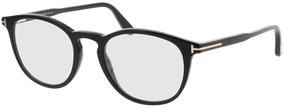 Picture of glasses model Tom Ford FT5401 001 51-20 in angle 330