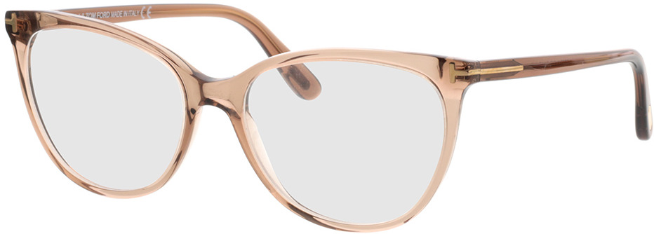 Picture of glasses model Tom Ford FT5513 045 in angle 330