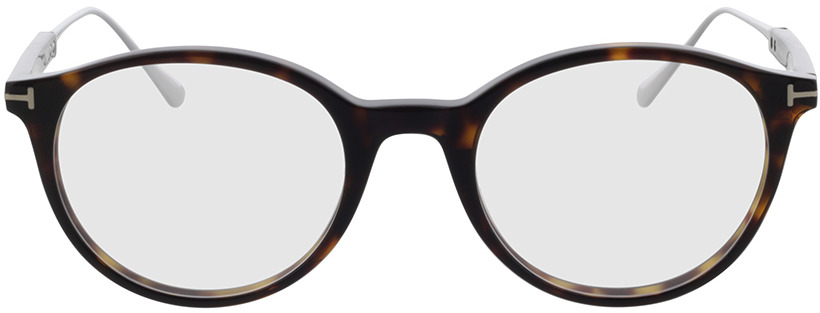 Picture of glasses model Tom Ford FT5485 052 in angle 0